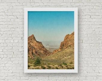 Big Bend National Park, Landscape Wall Art Decor, Southwestern Art Print, Southwestern Photography, Texas Photography, Bohemian Decor