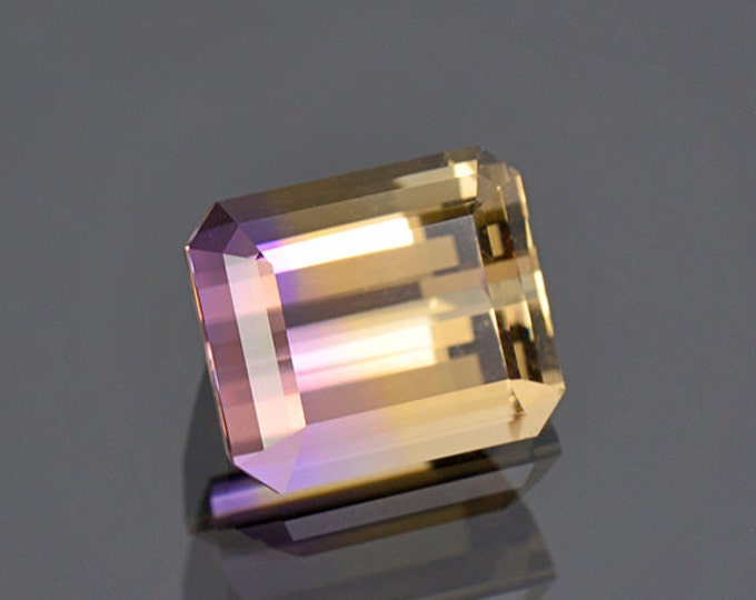 Excellent Bi-Color Ametrine Gemstone from Bolivia 6.24 cts.
