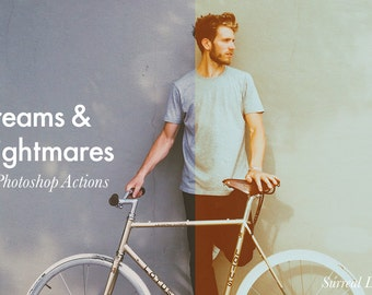 Dreams & Nightmares - 15 Photoshop Actions Pack INSTANT DOWNLOAD