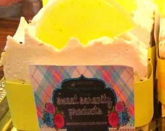 Cold Processed Lemon Poppyseed 5.9 oz Bar Soap