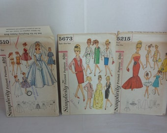 Barbie Simplicity Doll Patterns