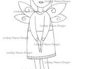 "Downloadable Digital image - ""Little Angel"""