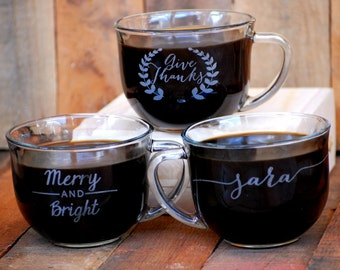 Coffee Wedding Favors, Personalized Coffee Cups, Wedding Favors Coffee, Custom Guest Gifts, Wedding Reception, Winter Wedding, Coffee Bar