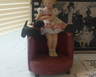 """CLEARANCE Shirley Temple """"Stand Up and Cheer"""", Limited Edition Figurine, #6886, Boxed"""