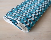 Organic Burp Cloth - Feathers