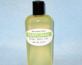 Pure Shea Oil-Unrefined-Cold Pressed-No Additives.