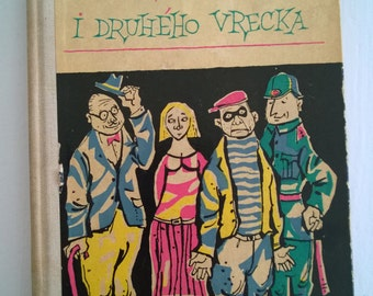 CLEARANCE Stories on Either Side of the Bag Karel Capek Poviedky Z Jedneho I Druheho Vercka Vintage Short Story Anthology Slovak Czech Book