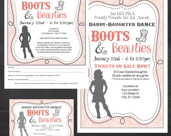 Boots And Beauties Daddy Daughter Dance Father
