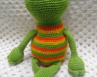Frog, Amigurumi, Crochet Toy, Frog Toy, Boy Gift, Crochet Toy, Boy Toy