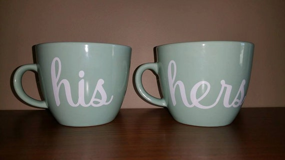 his and hers coffee mug set couple present mr and mrs mugs. Black Bedroom Furniture Sets. Home Design Ideas