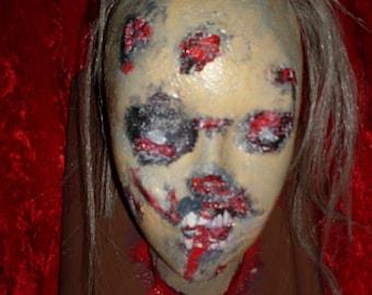 Zombie Trophy Head
