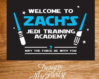 Star Wars Backdrop Wall Banner/Poster (Personalised DIY Printables)