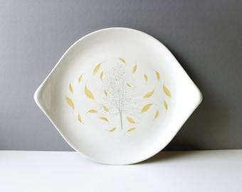 Eva Zeisel for Hallcraft Sunglow Serving Platter Mid Century