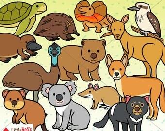 Australian Animals Clip Art