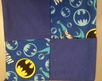 Batman Flannel Pot Holder (B)