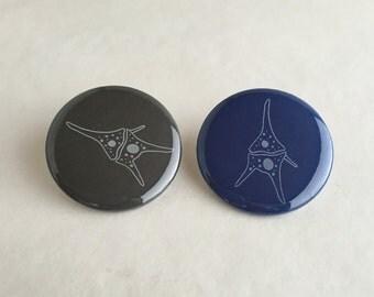 Dinoflagellate Button