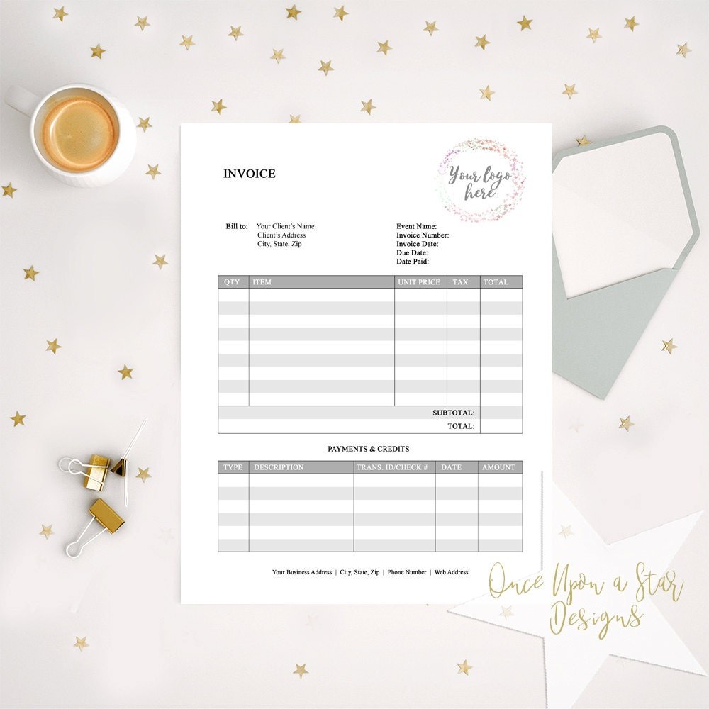 business forms invoice