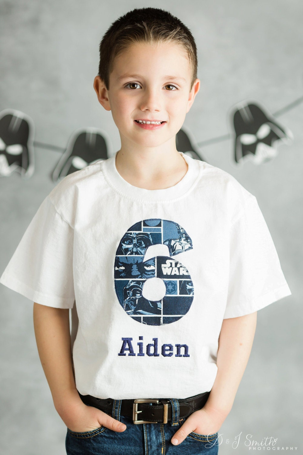 Design your own t-shirt birthday party - Kids Appliqu D Personalized T Shirt R2 D2 Zoom