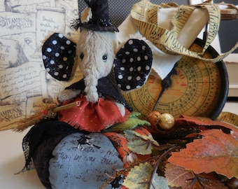 Halloween viscose elephant