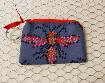 Gift card holder, Coin pouch, Credit card pouch, Bees