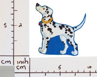 Dalmatian Dog Iron On Fabric Transfer Applique - 9807