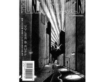 "Indie comic book The UNFORGIVEN #1.1: ""Awakening"" original autographed comic book"