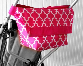 Umbrella Stroller Bag, Baby Stroller Caddy for New Moms, Custom Baby Shower Gift Idea,  Stroller Phone Holder, Toddler Travel Accessories