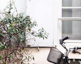Paris Bicycle Photo, Paris Photography, Paris Print, Rue Cremieux, Paris Decor, Home Decor, Bicycle Photograph