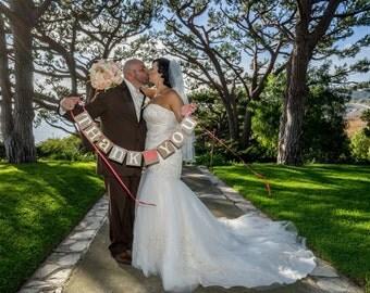 Thank You Banner/ Wedding Garland/ Banner/ Thank You Card  Photo Prop/ Wedding Thank You/ Thanks so much / Wedding Decoration