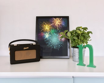 Fireworks Print | Digital Print | Wall Decor | Fireworks Wall Art