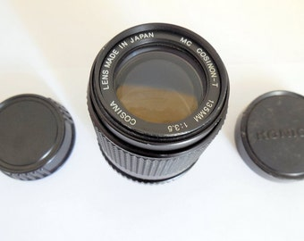 Cosina Cosinon MC 135mm Telephoto lens fit Pentax