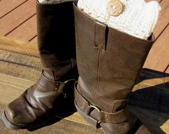 Leg Warmers, Boot Cuffs, Crochet, Custom Colors, Team Colors