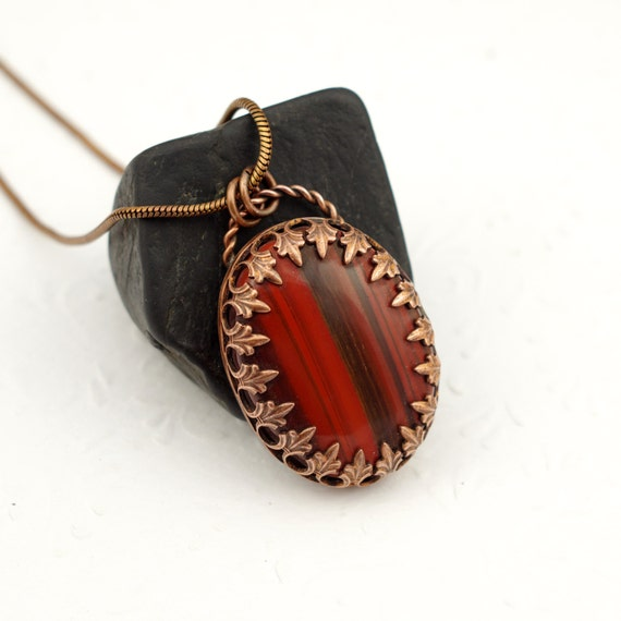 Copper Jewelry Copper Gifts 7th Wedding Anniversary Gift