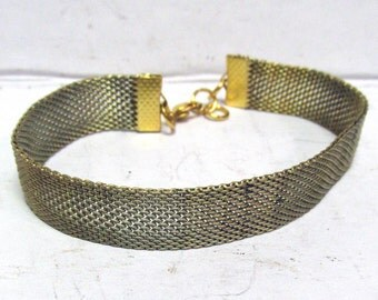 Vintage Real Copper Mesh Bracelet 04