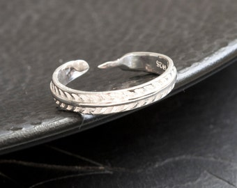 Spring ring - 925 Sterling Silver Edition