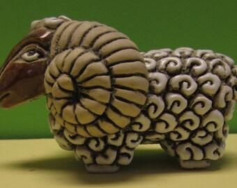 Artesania Rinconada Clay Ram From Uraguay - Free Shipping