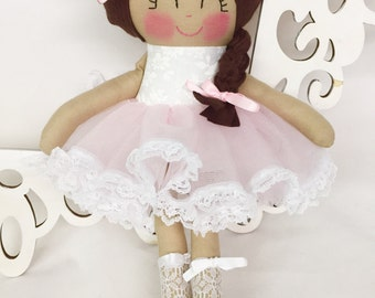 Cloth Baby Doll- Pink