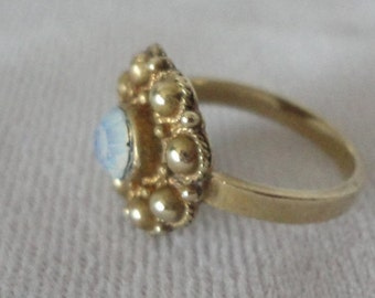 Gorgeous Vintage Gold filed Opan Ring*****.