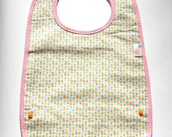 Baby or toddler bibs with pocket