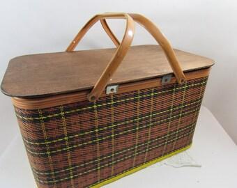 Vintage Redman Picnic Basket Picnic Hamper