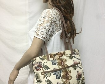 Tapestry Tote, Shoulder Bag, Purse,Bag