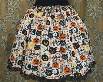 Halloween Stamp Lolita Skirt
