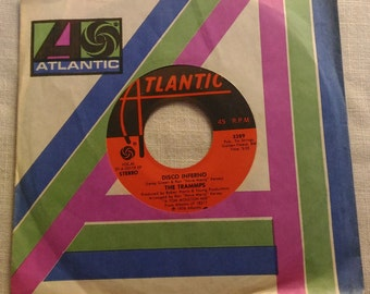 Disco Inferno - The Trammps - 45 RPM Single