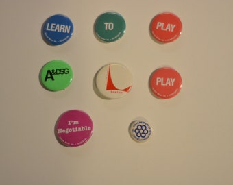 Herman Miller Factory Buttons 1.25