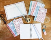 Ultimate Stationery Pack - Includes Notebooks, Notepads, Pencils & Washi Tape