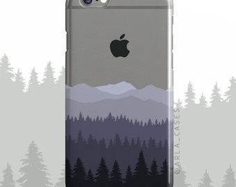 Mountain Range Phone Case, Gifts for Dad, Galaxy S8 Plus, Mountaineers, iPhone 6s Case, S8 Plus Case, iPhone 7, Galaxy S6 Edge, Galaxy S7