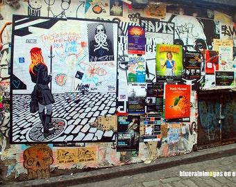 Street Of Dreams, Graffiti, Street Art, Urban Art, City Art, Urban Photography, City Photography