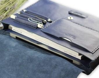Posh messenger bag #toxleather | Indigo leather messenger | Handmade courier bag | Leather satchel