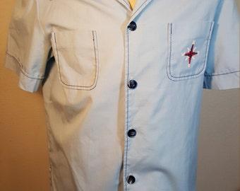 FREE  SHIPPING  Vintage 1970 Men Nautical Jacket