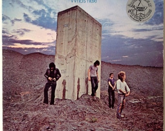 The Who - Who's Next LP Vinyl Record Album, MCA Records - MCA-37217, Hard Rock